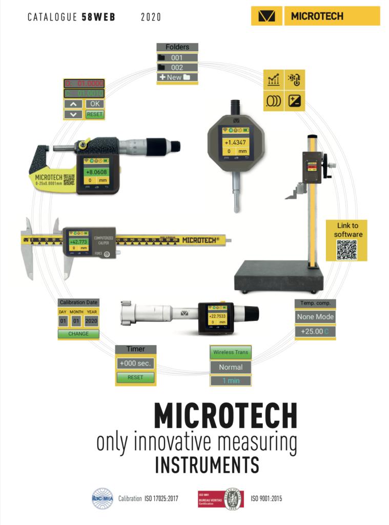 microtech katalog narzędzi pomiarowych