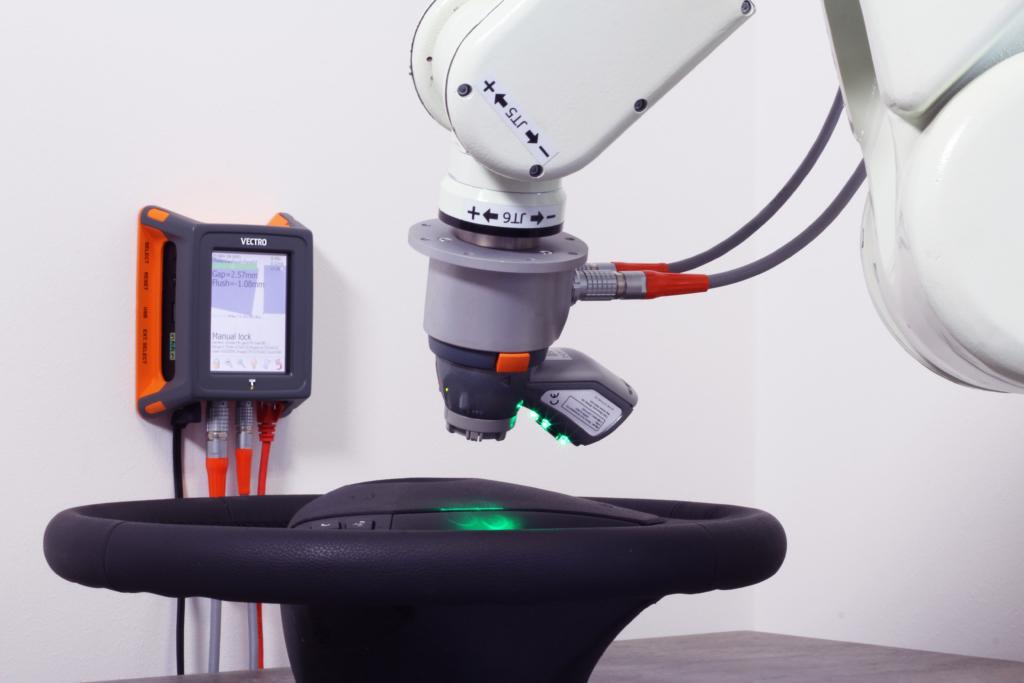 robot pomiarowy z laserem vectro